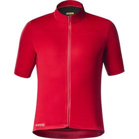 Mavic Mistral Jersey Heren, haute red